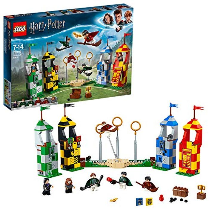 LEGO Harry Potter Quidditch Match 75956 *4.8 STARS* 500 Pieces FREE DELIVERY