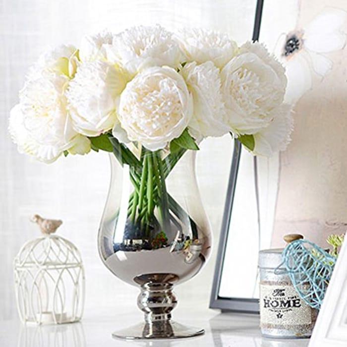 Handmade Artificial Peony Flowers Bouquet