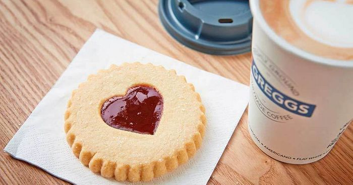Free Jammy Heart Biscuit on February 14th at Greggs via Vodafone VeryMe App