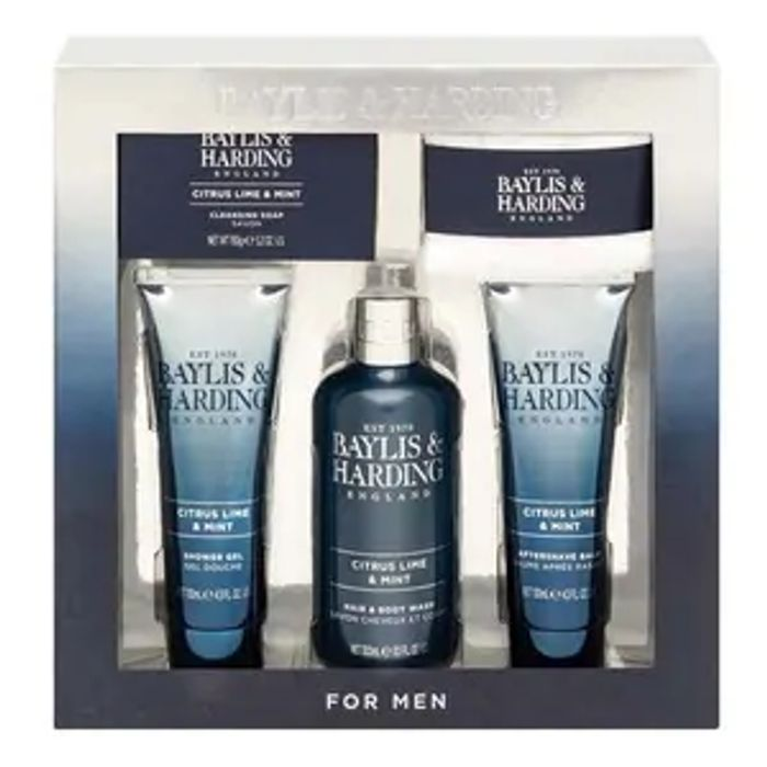 Baylis & Harding Mens Citrus Lime & Mint Luxury Gift Set
