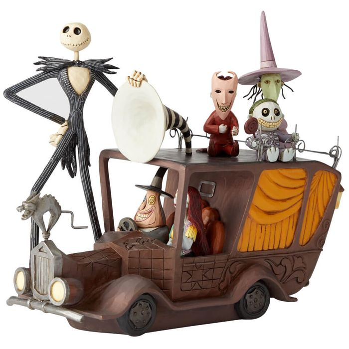 Enesco Disney Statue Mayor Car (Nightmare before Christmas) 17 Cm