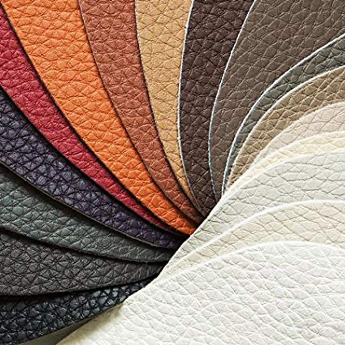 6 Free Leather Fabric Swatch Samples.
