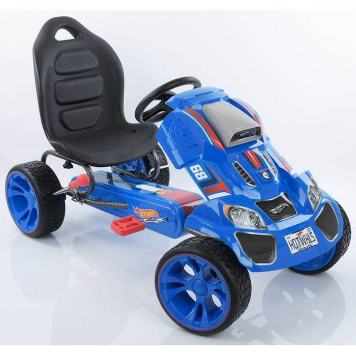 Hauck Hot Wheels XL Pedal Grow with Child Go-Kart (3-12yrs) - Blue - Only £74.95