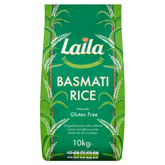 Laila Basmati Rice 10Kg Online & IN Store