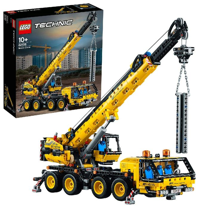 LEGO 42108 Technic Mobile Crane Truck