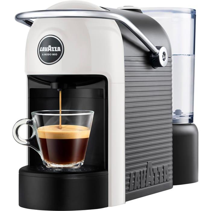 Best Price! Lavazza Jolie Pod Coffee Machine - White SAVE £5 at AO