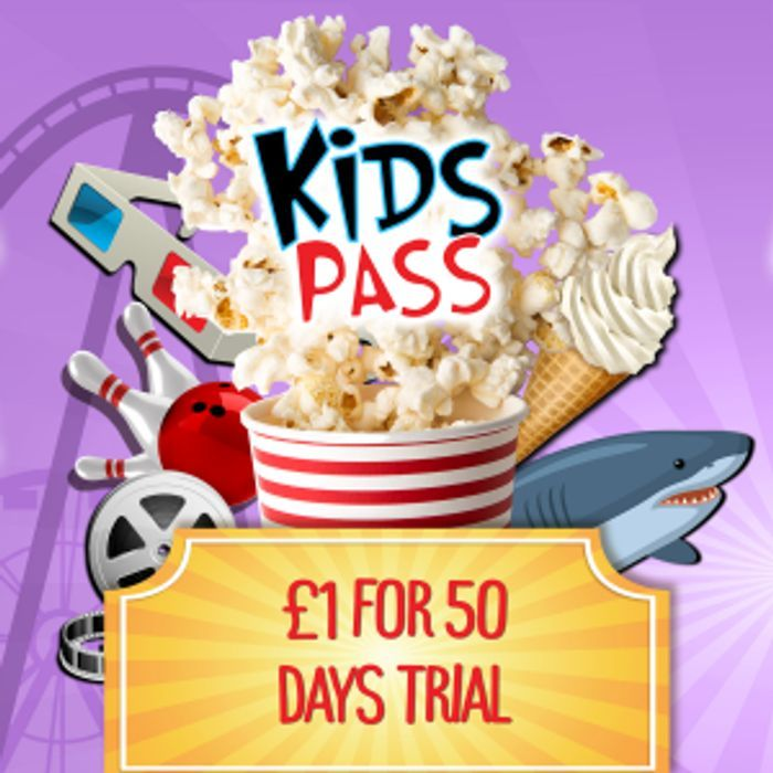 Kids Pass Membership - £1 for 50 Day Trial - Ideal for Half Term!