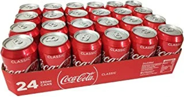 Coca-Cola Cans (330ml X 24) Only £8
