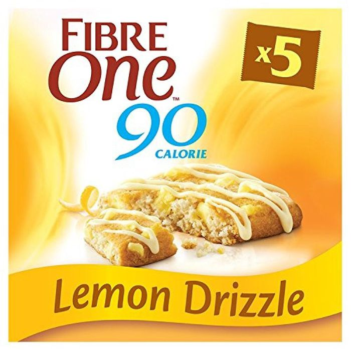 TODAY ONLY Fibre One Lemon Drizzle Squares 5x24g