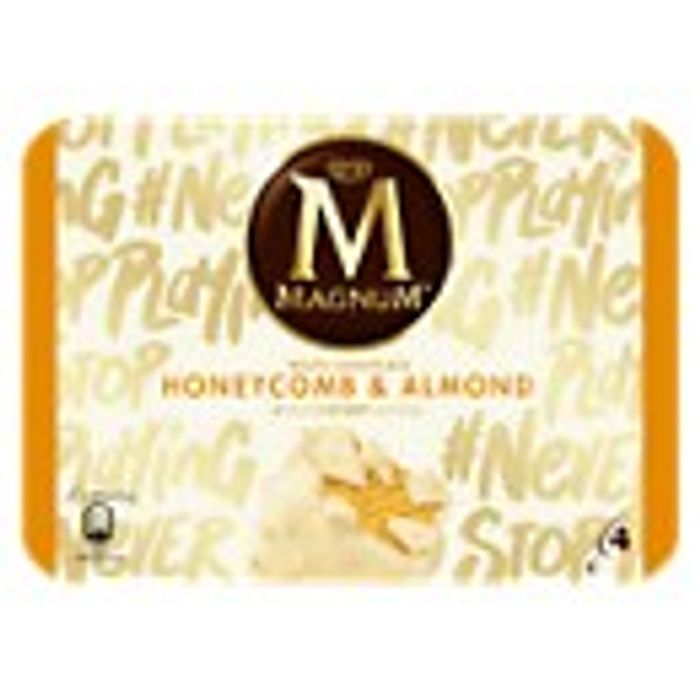 Magnum 4pk Classic, Almond,Mint, White or Honeycomb Flavours