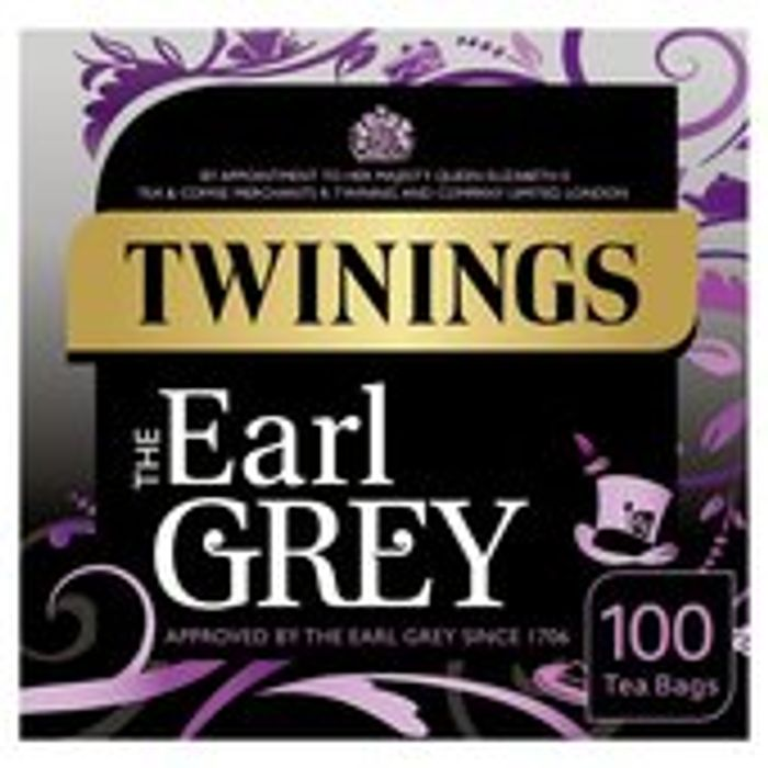 Twinings Earl Grey Tea Bags 100s 250g