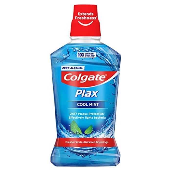 Colgate Plax Cool Mint Mouthwash 500ml AMAZON PANTRY ITEM