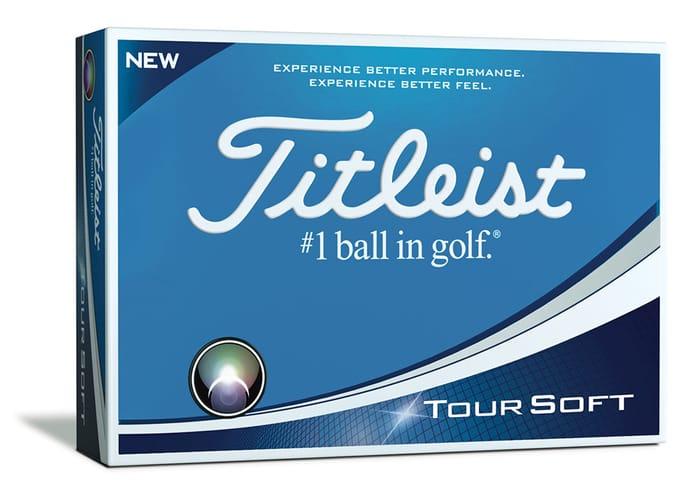 Titleist Tour Soft Golf Balls (12 Balls) at Golfonline - Only £24.95!