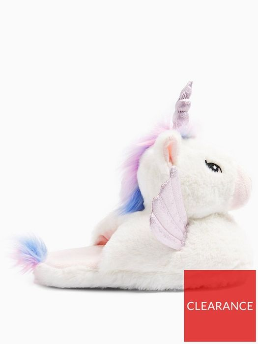 *SAVE over £10* Topshop Unicorn Slippers - White
