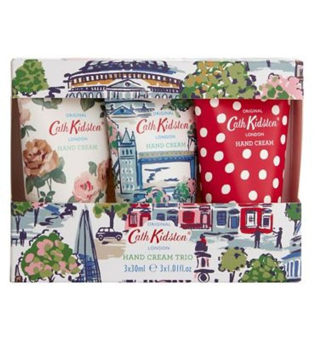 Cath Kidston London View Hand Cream Trio Set Use Code SALE10