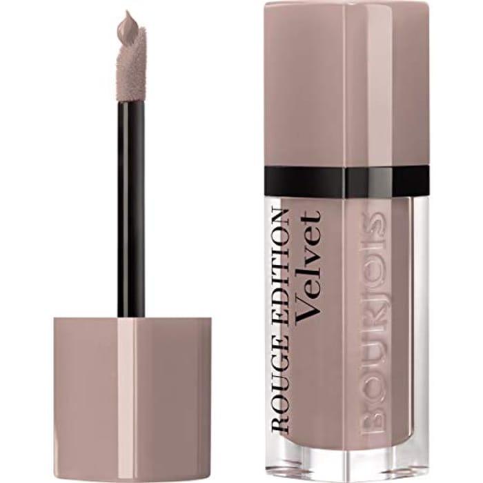 Bourjois Rouge Edition Velvet Liquid Lipstick 27 Cafe Ole! Nudes