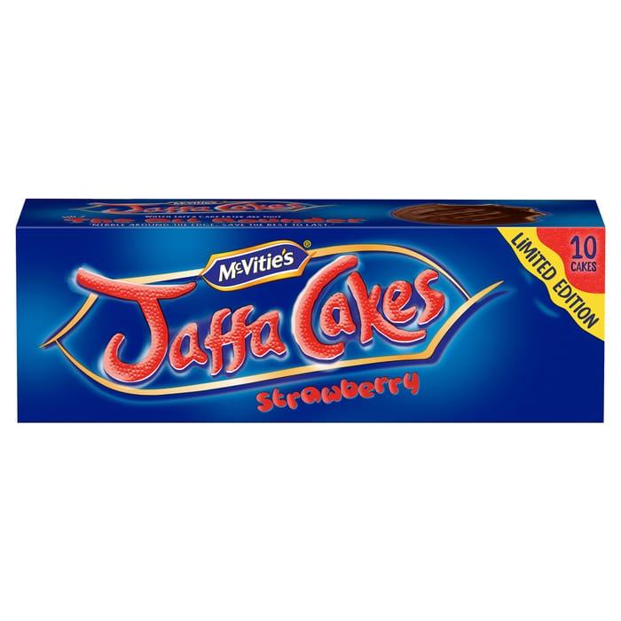 Mcvitie's Jaffa Cakes Strawberry 10 Pack