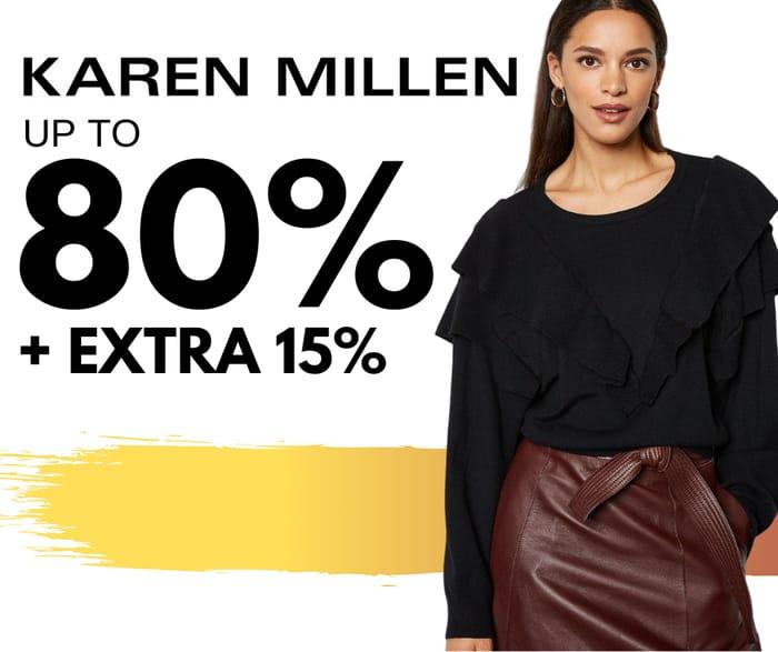 Karen Millen - 80% Clearance + Extra 15% Discount Code