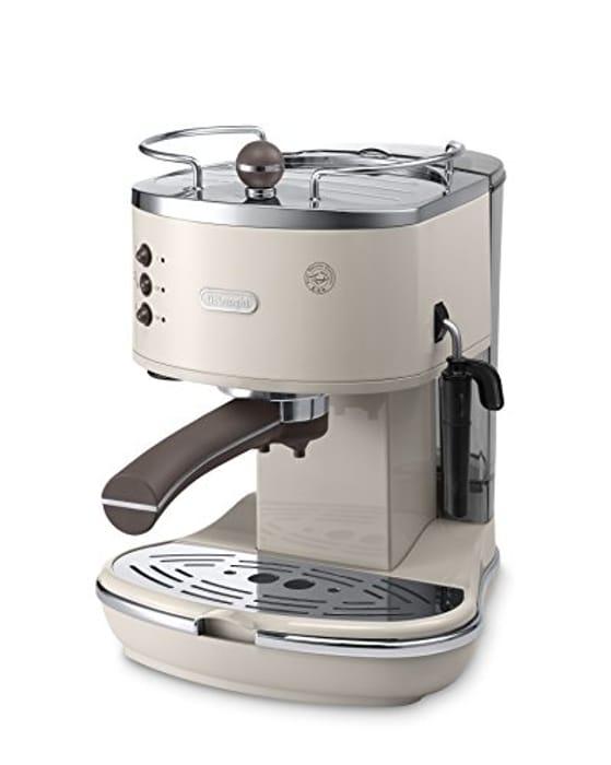 De'Longhi Vintage Icona ECOV311BG Traditional Pump Espresso Machine