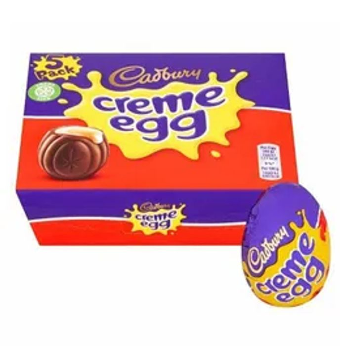 Cadbury's Creme Egg 5 Pack *WOW! A 5 PACK FOR £1!