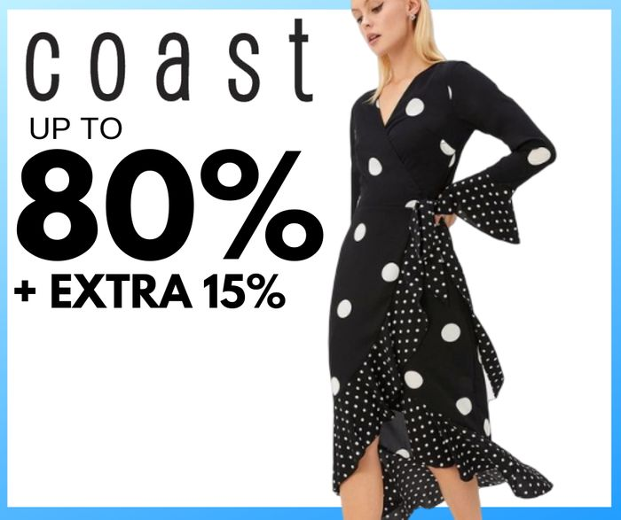 Coast - Up To 80% Off Clearance + Extra 15% With Code!