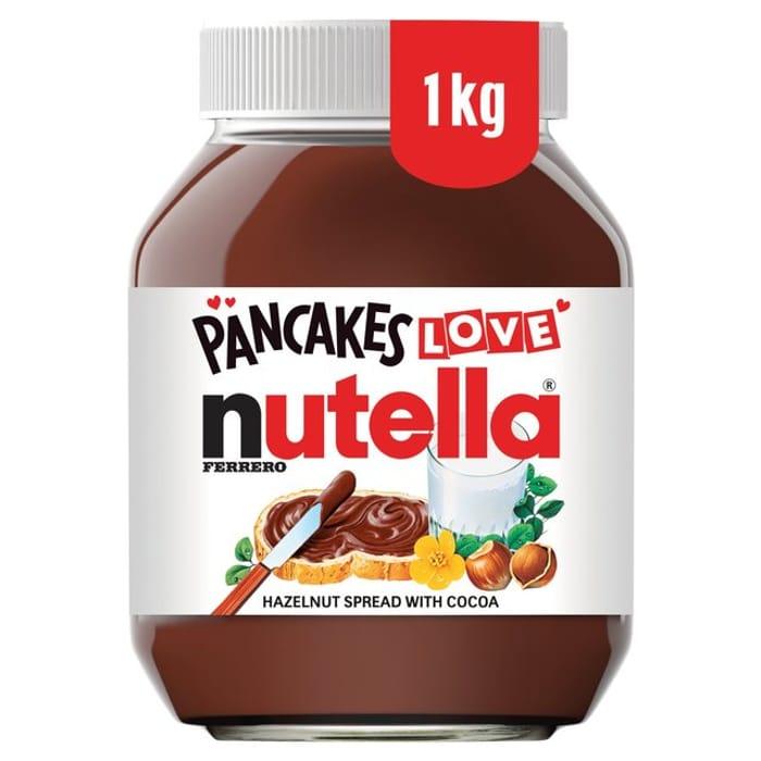 Nutella Spread Large 1kg Jar