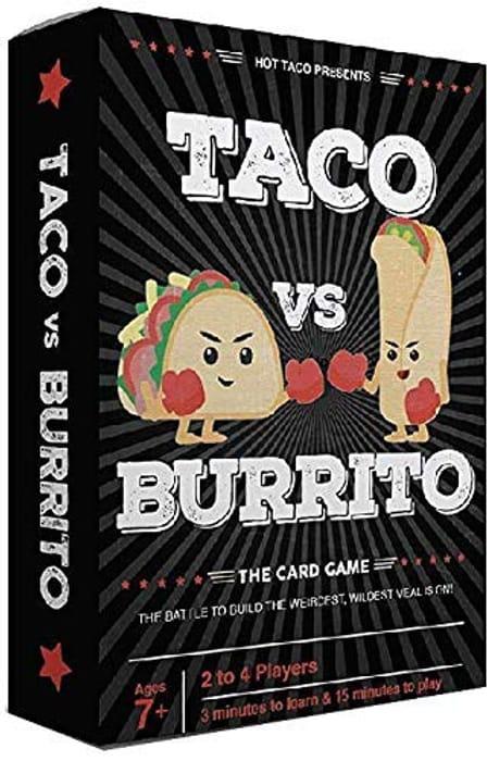Taco vs Burrito - the Wildly Popular Surprisingly Strategic Card Game