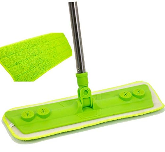 Microfibre Mop with Washable Removable Cleaning Pad for Cleaner Floor/Wood/Tile