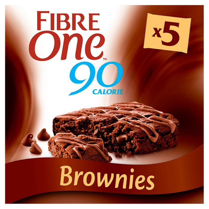 Fibre One Chocolate Fudge Brownie Bars 5X24g