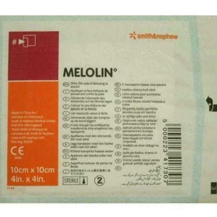Price Drop! Smith & Nephew Melolin Wound Dressing 10cmx10cm(Min Order 10)