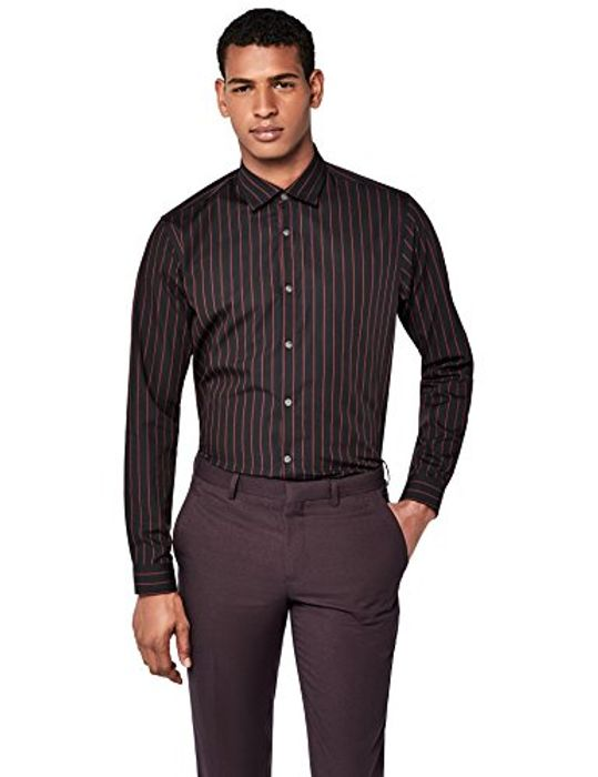Amazon Brand - Find. Men's Dress Shirt Size 44 for £5.20 Only