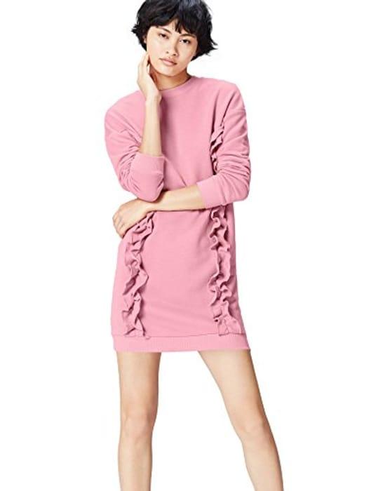 Price Drop! Find. Women's Sweatshirt Ruffle Trim Oversized- Size 14 Only