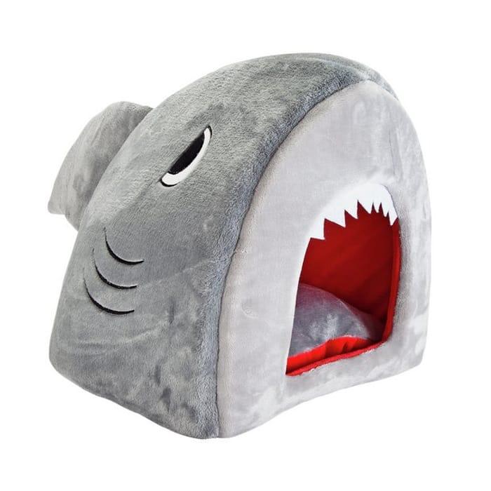 Duunnn dunnn...Shark Cat Bed with 50% Off