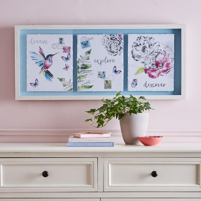 Heavenly Hummingbirds Framed Print