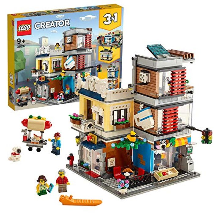 Best Ever Price! LEGO 31097 Creator 3-in-1 Townhouse Pet Shop and Cafe