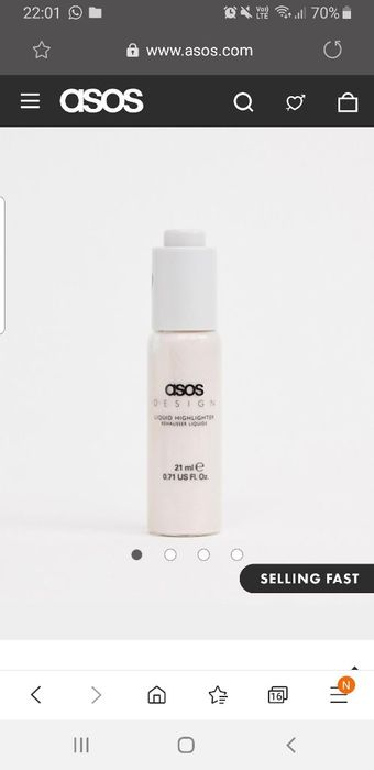 Makeup Liquid Highlighter Was £9