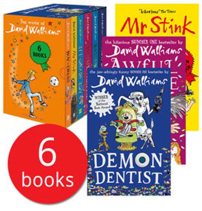 The World of David Walliams Collection - 6 Books (Collection)