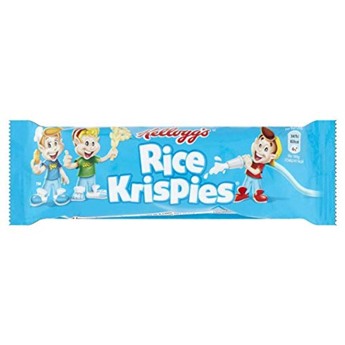 Cheap 25 X Rice Krispies Cereal Bars at Amazon, Only £4.13!