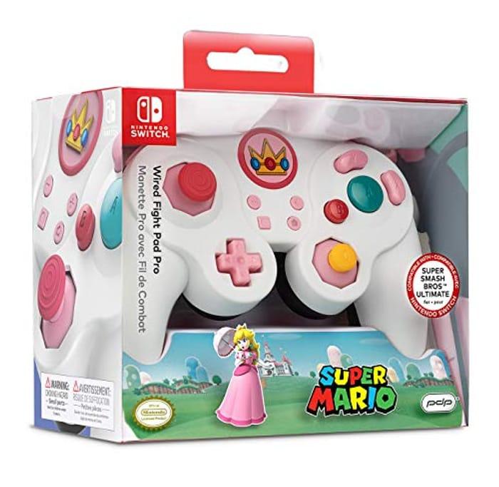 Wired Fight Pad Pro (NS - Peach - EU) (Nintendo Switch)