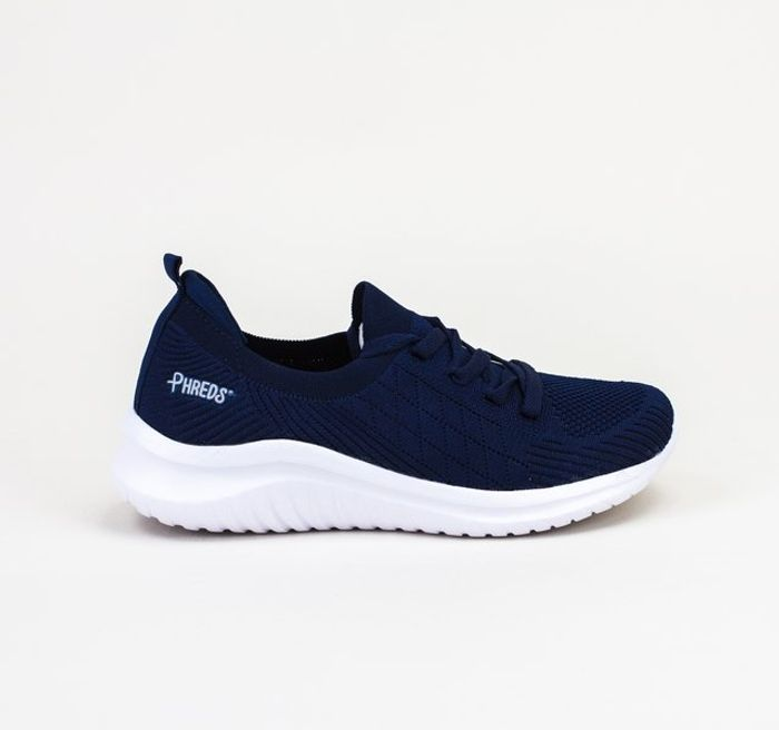 Phreds Capture You Navy/White Trainers