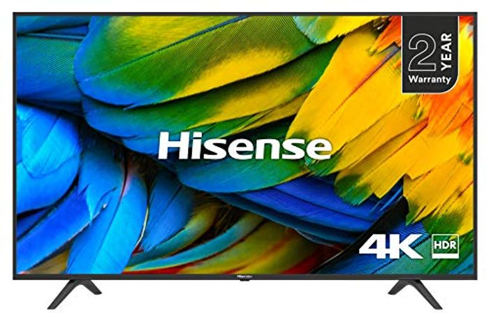 HISENSE H50B7100UK 50-Inch 4K UHD HDR Smart TV with Freeview Play