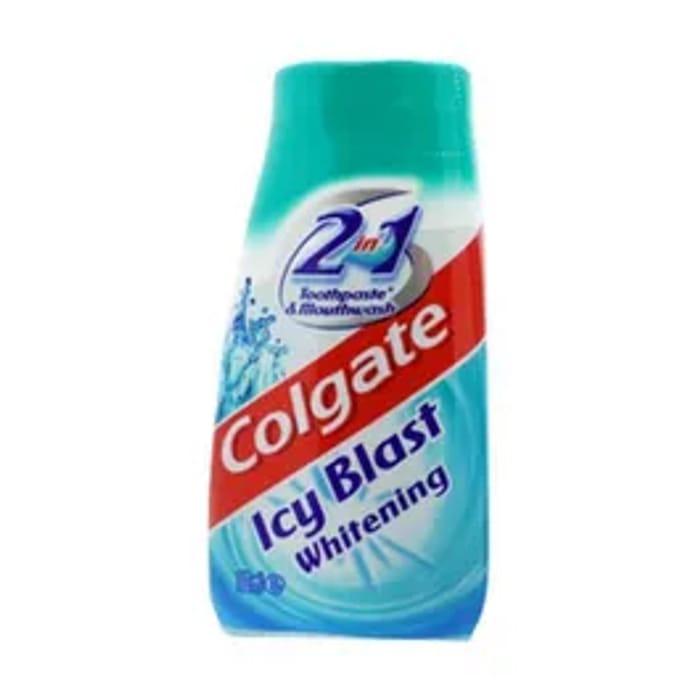 Colgate Toothpaste 2 in 1 Icy Blast Whitening 100ml