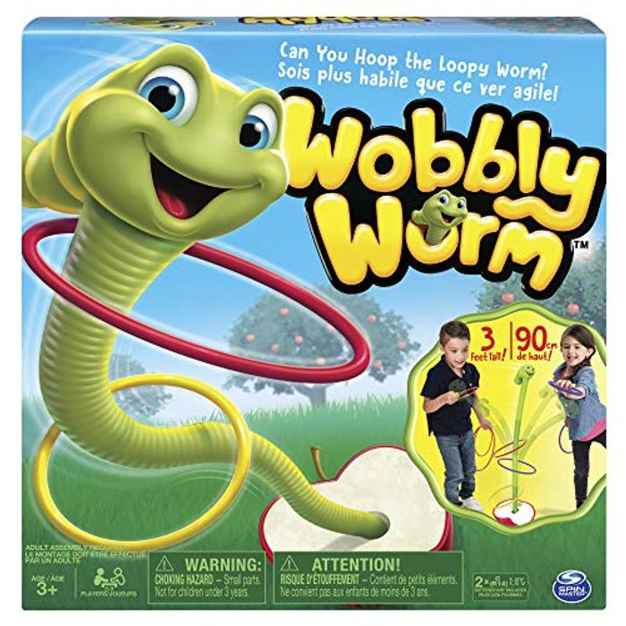 Best Ever Price! Spin Master Games - Wobbly Worm Game