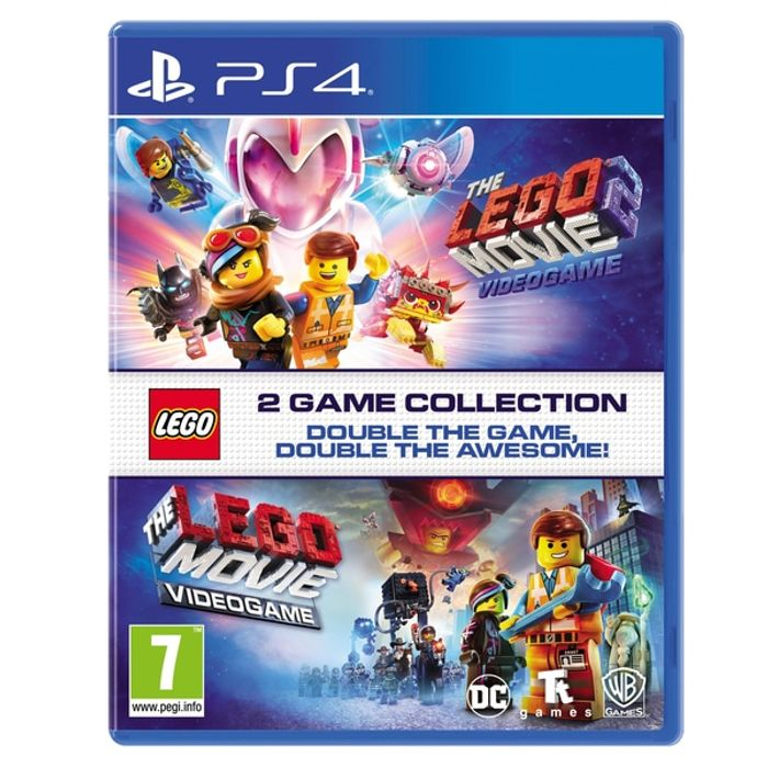 The Lego Movie 1 & 2 Double Pack - (PS4 & Xbox One) £14.99 at Smyths (Free C&C)