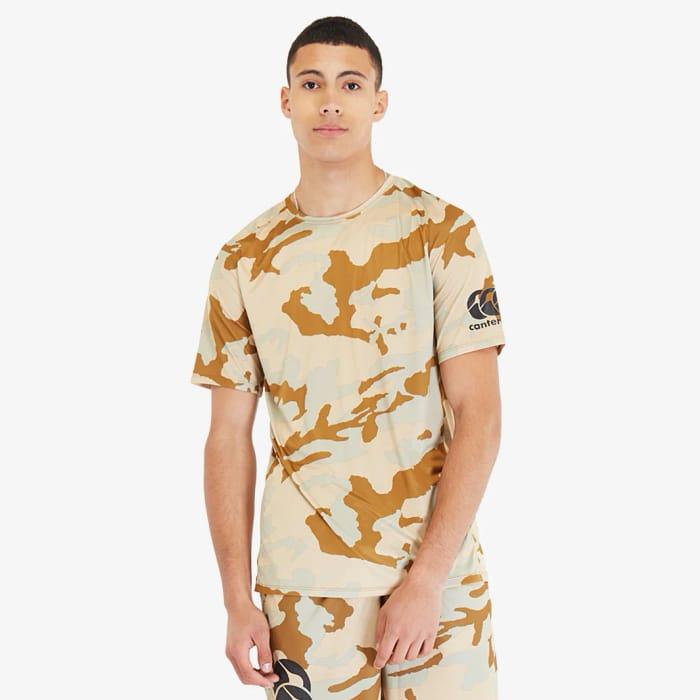 Half Price Canterbury Camo T Shirt