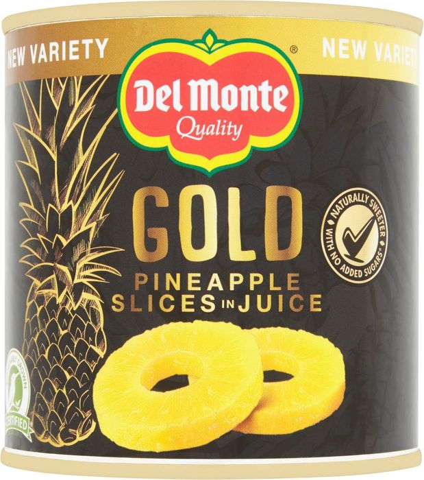 Del Monte Gold Pineapple Slices in Juice 435G HALF PRICE