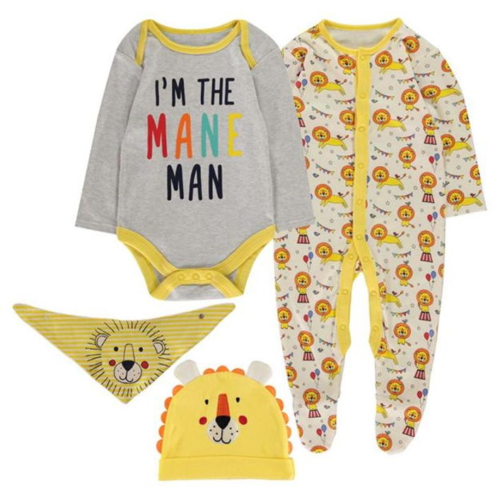 Yellow Lion 4 Piece Baby Set (And Other Amazing Deals)