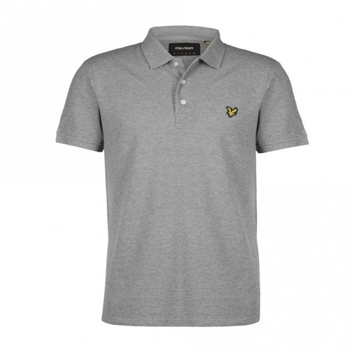 LYLE & SCOTT Polo - Grey