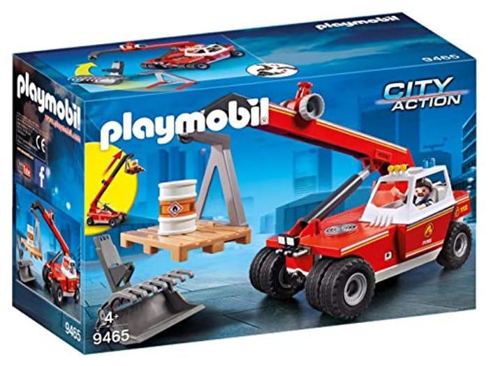 Best Ever Price! Playmobil City Action 9465 Fire Crane