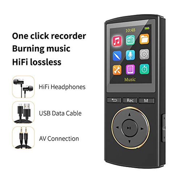 MP3 Player, MusRun MP3 Music Player 8Gb, Extendable up to 128GB